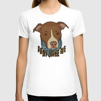 pit bull T-shirts featuring Pit bull Pride by Sara Robish Andrews