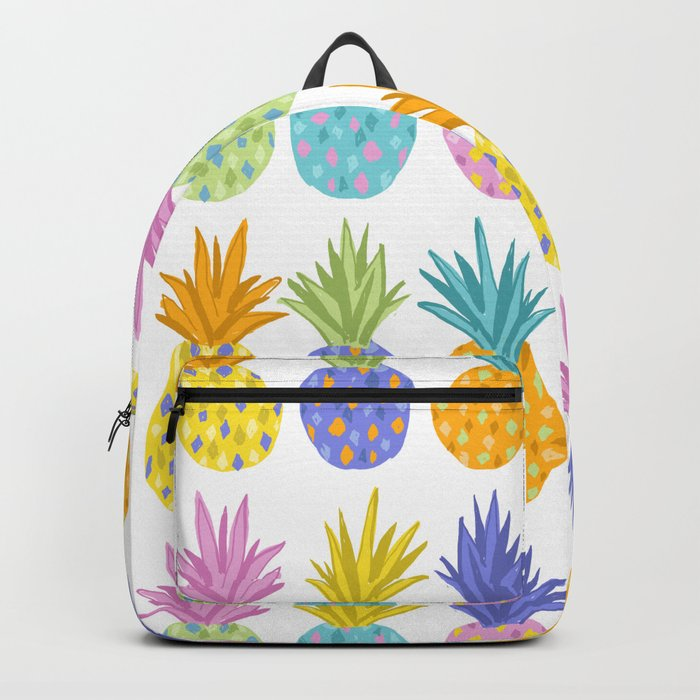 Colorful Pineapples Backpack