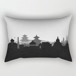 City Skylines: Kathmandu Rectangular Pillow