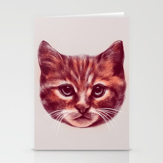 Everybody wants to be a Cat Stationery Cards