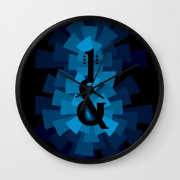 and the guitar Wall Clock