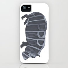 Hippos Typography iPhone (5, 5s) Slim Case