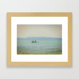 Croatian Summer Framed Art Print