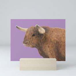 Harry the Bull Mini Art Print