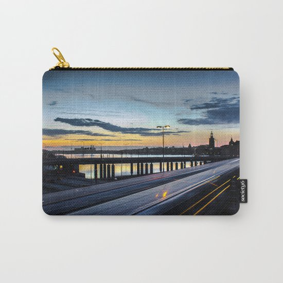 Stockholm Night - Slussen Carry-All Pouch