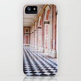 le couloir rose iPhone Case