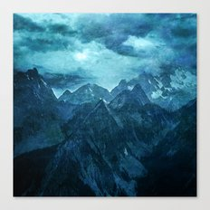Amazing Nature - Mountains Canvas Print
