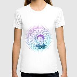 Frida Kahlo Feminist Bravery T-shirt