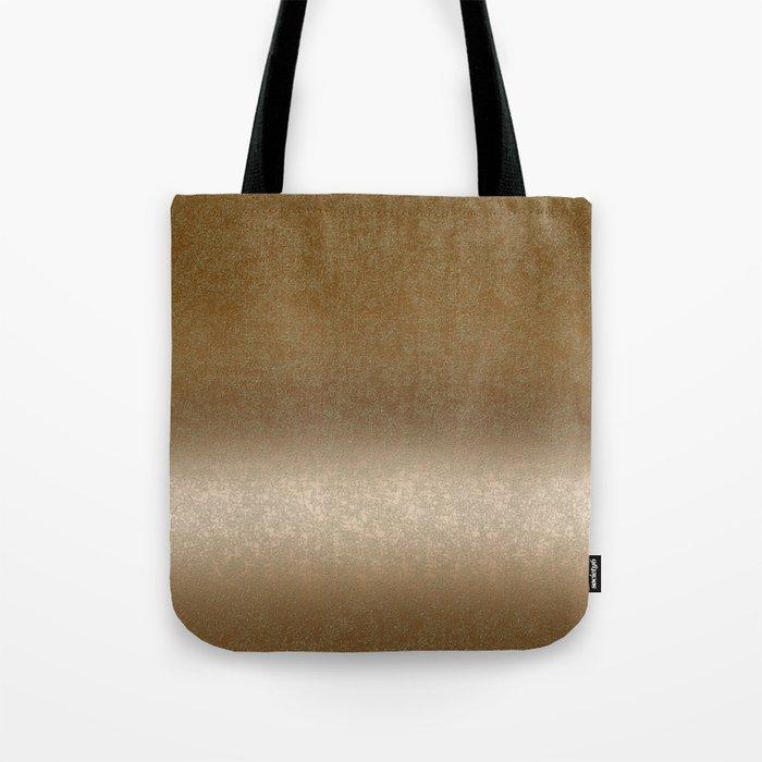 Golden gradient ornament background Tote Bag