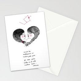 Amor enredado Stationery Cards