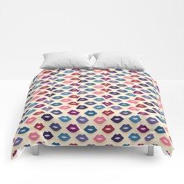 Retro Lips Pattern Comforters