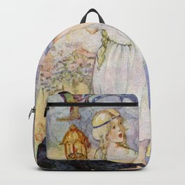 """Gerda and the Ravens"" Fairy Art by Anne Anderson Backpack"
