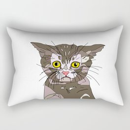 Maine Coon Kitty Rectangular Pillow