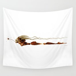 Cube Lady Wall Tapestry