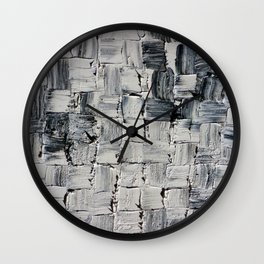 LEATHER AND LACE Wall Clock