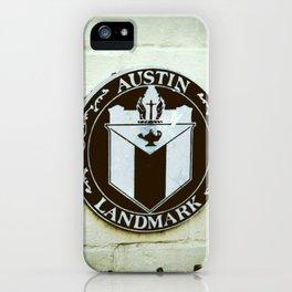 Austin Landmark iPhone Case