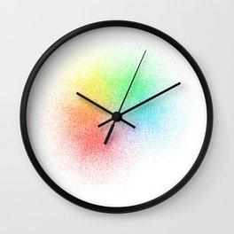 Rainbow Disperse Wall Clock