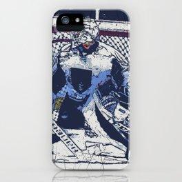 The Goal Keeper - Ice Hockey iPhone Case