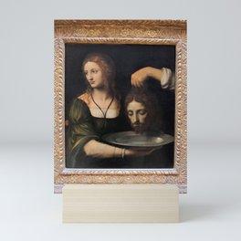 Bernardino Luini - Salome with the Head of St John the Baptist Mini Art Print