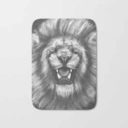 Courageous (Original drawing) Bath Mat