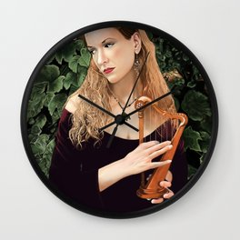 Song of the Siren by A.Harrison Wall Clock
