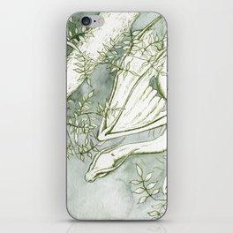 Chaudeleau the Green Marsh Dragon iPhone Skin