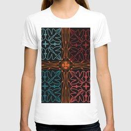 Teal Motif T-shirt