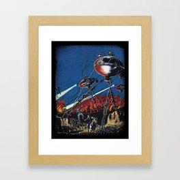 War of the Worlds 1 Framed Art Print