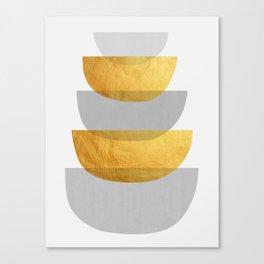 Abstract Golden Art XX Canvas Print