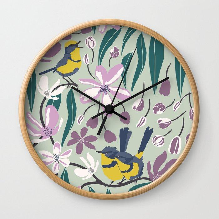 Summer Melody Wall Clock