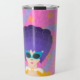 Modern Marie Antoinette Travel Mug