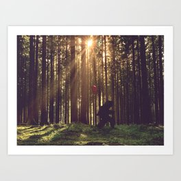 The Long Walk Home ... Art Print