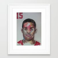 49ers Framed Art Prints featuring Crabtree- 49ers by Anthonylanza