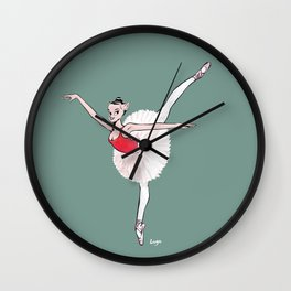 CoolNoodle practice ballet Wall Clock