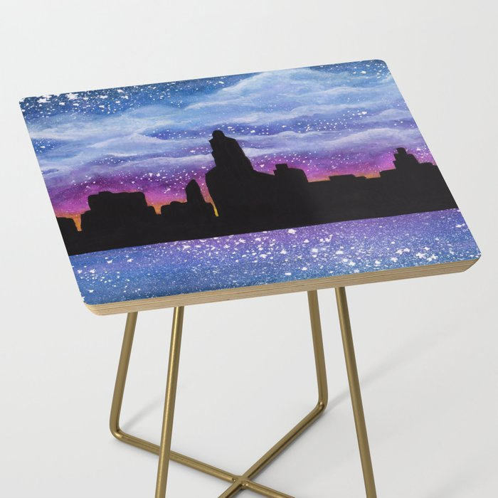 City of Stars Side Table