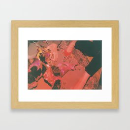 Candy Grab Framed Art Print