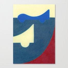 Blue Earth Canvas Print