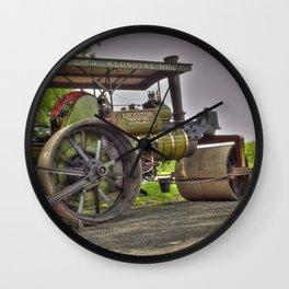 Lady Hamilton Road Roller Wall Clock