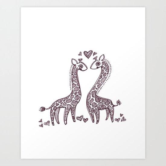 Love Spots Art Print