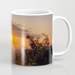 Vibrant sunset Coffee Mug