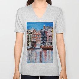 Beautiful Amsterdam Unisex V-Neck