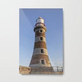 Roker lighthouse 4 Metal Print