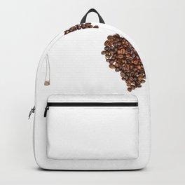 I Love Coffee- saying Backpack