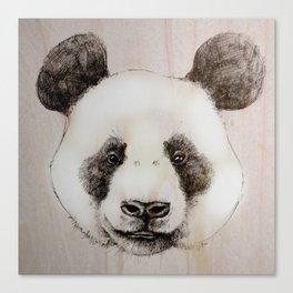 balsa panda Canvas Print