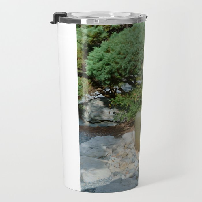 Japanese garden 7 Travel Mug