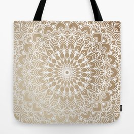 Gold Mandala 19 Tote Bag