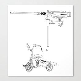 30MM Trike Canvas Print
