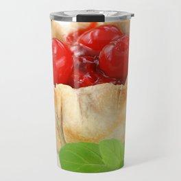 Cherry Tarts Travel Mug