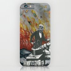 Complimentary Anesthetics amidst firebomb and spiritual tranquilizer raid. iPhone 6 Slim Case