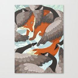 Smirre Fox Canvas Print